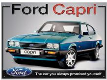 Ford Capri- Metal Wall Sign